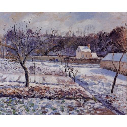 L'Hermitage Pontoise Snow Effect
