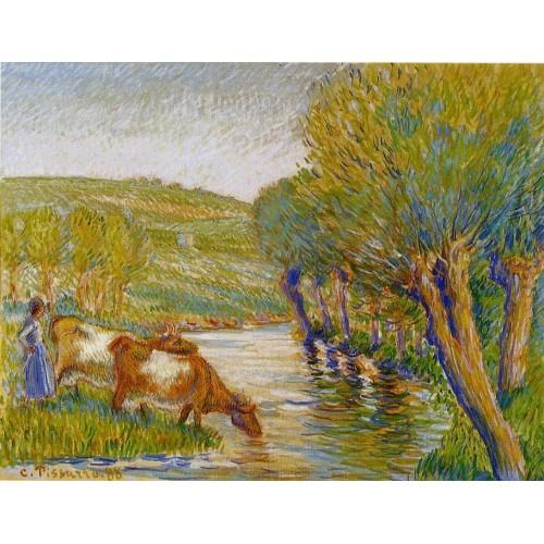 La Riviere aux Saules Eragny
