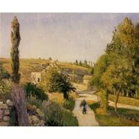 Landscape at l'Hermitage Pontoise