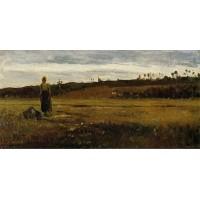 Landscape at Le Varenne Saint Hilaire
