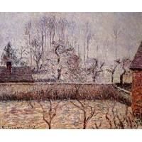 Landscape Frost and Fog Eragny