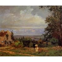 Landscape near Louveciennes 2