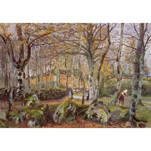 Landscape with Rocks Montfoucault