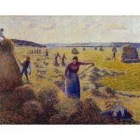 Le Recolte des Foins a Eragny