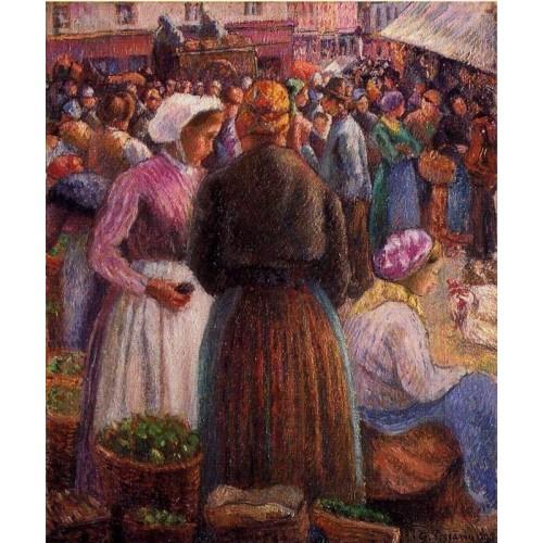 Market at Pontoise