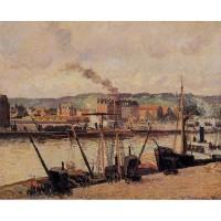Morning Rouen the Quays