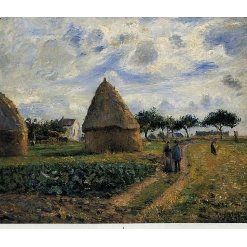 Peasants and Hay Stacks