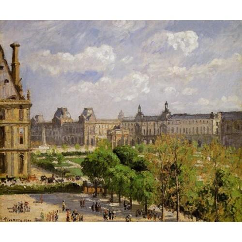 Place du Carrousel the Tuileries Gardens