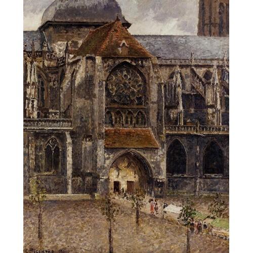 Portal of the Church Saint Jacques Dieppe
