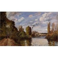 Riverbanks in Pontoise