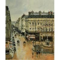 Rue Saint Honore Afternoon Rain Effect