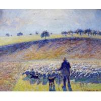 Shepherd and Sheep
