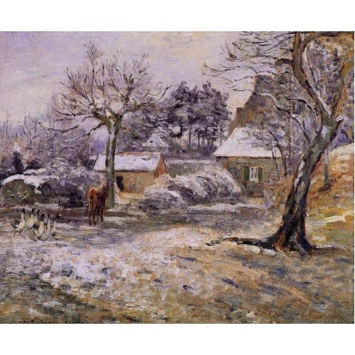 Snow at Montfoucault