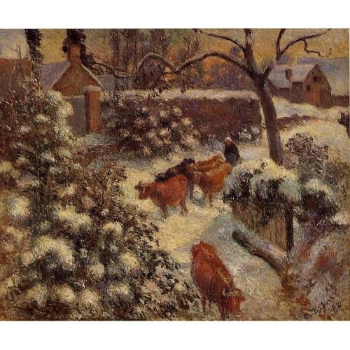 Snow Effect in Montfoucault