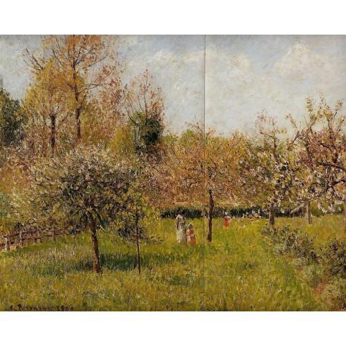 Spring at Eragny