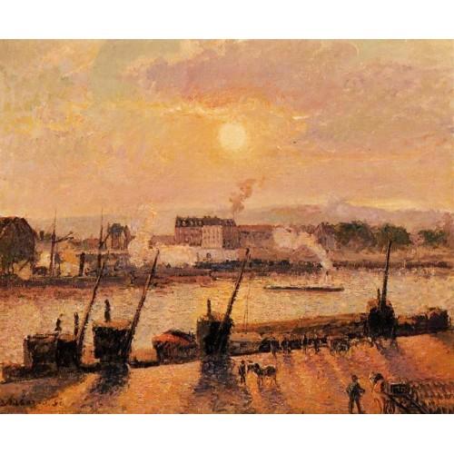 Sunset Rouen