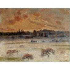 Sunset with Fog Eragny