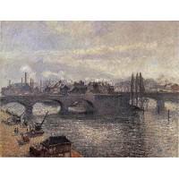 The Corneille Bridge Rouen Morning Effect