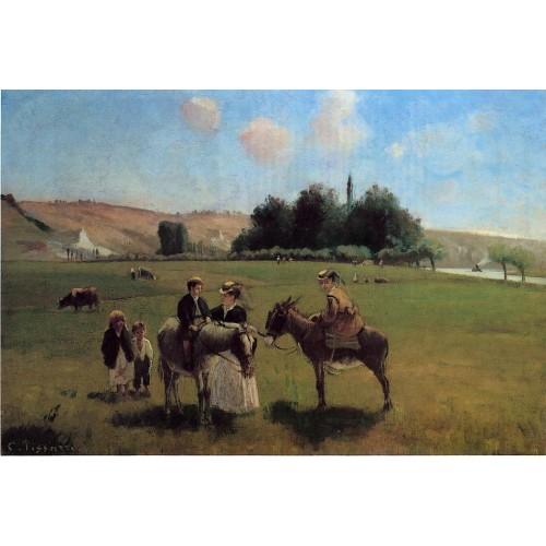 The Donkey Ride at Le Roche Guyon