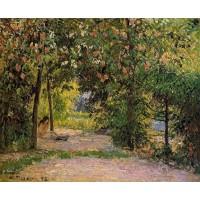 The Garden in Spring Eragny