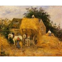 The Hay Wagon Montfoucault