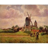 The Knocke Windmill Belgium 1