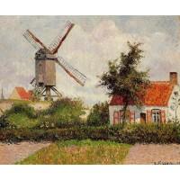 The Knocke Windmill Belgium 2