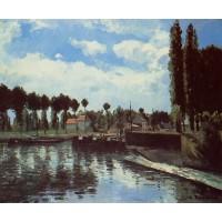 The Lock at Pontoise