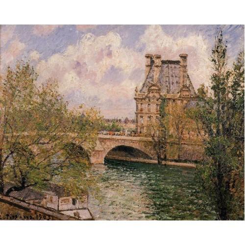 The Pavillion de Flore and the Pont Royal