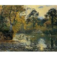 The Pond at Montfoucault 1