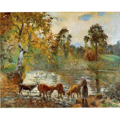 The Pond at Montfoucault 2