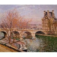The Pont Royal and the Pavillion de Flore