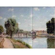 The Railroad Bridge at Pontoise