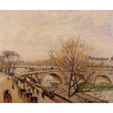The Seine at Paris Pont Royal