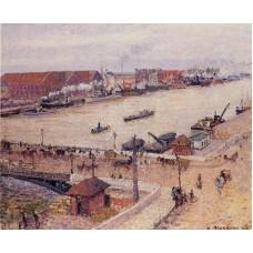 The Seine in Flood Rouen