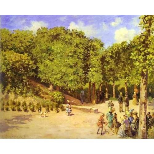Town Garden in Pontoise