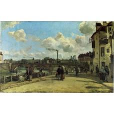 View of Pontoise 2