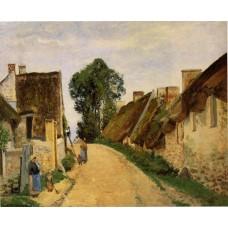 Village Street Auvers sur Oise