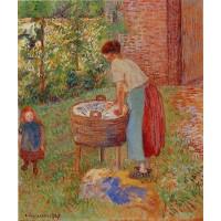 Washerwoman Eragny