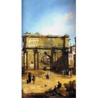 Rome The Arch of Septimius Severus