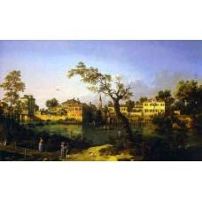 View of a River Perhaps in Padua