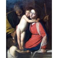 Heilige familie mit johannes dem taeufer anagoria