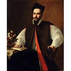 Portrait of pope urban viii