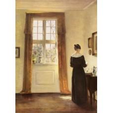 Woman In Interior