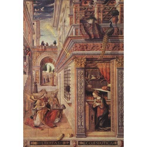 Annunciation with St Emidius