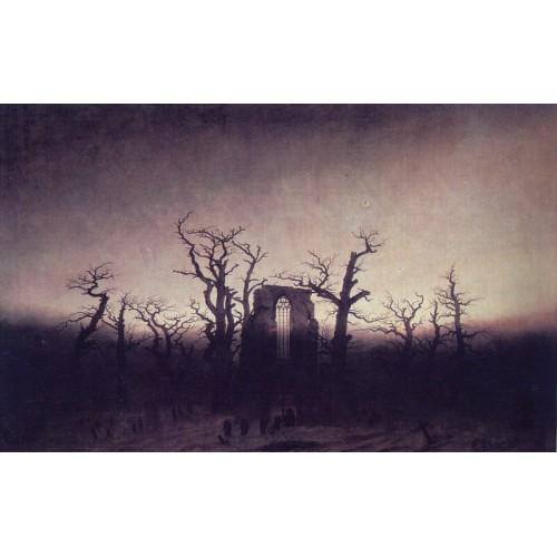 Abbey in an Oak Forest