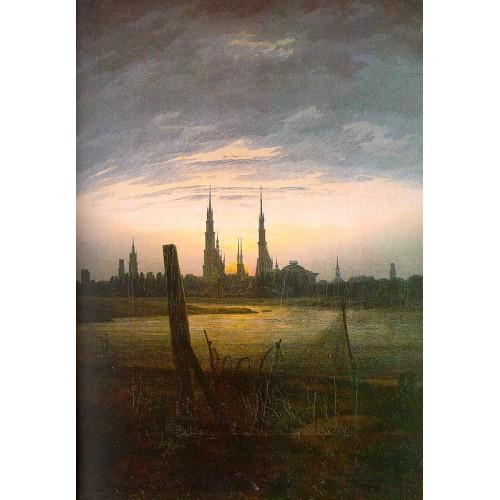 City at Moonrise
