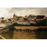The Village Auvers sur Oise
