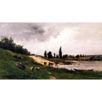 Washerwomen on the Riverbank