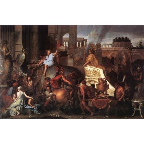 Entry of Alexander into Babylon